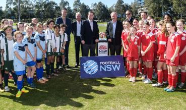 NSW ASIAN CUP 2015 LEGACY FUND INJECTS $4 MILLION INTO FOOTBALL'S FUTURE
