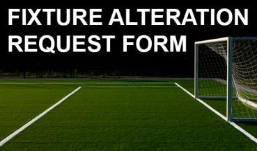Fixture Alteration request Form